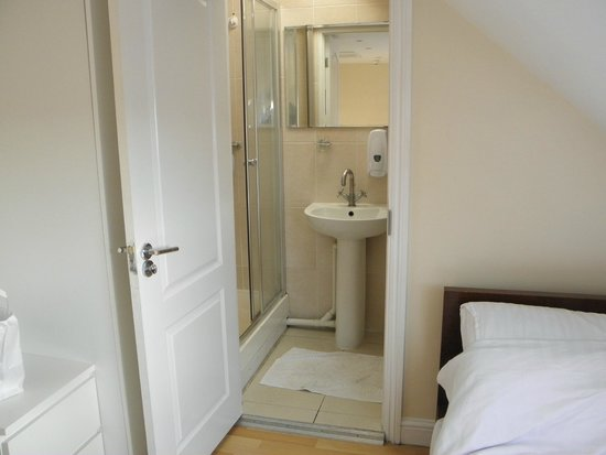 FlexiStay Aparthotel Tooting London: The room and WC/shower