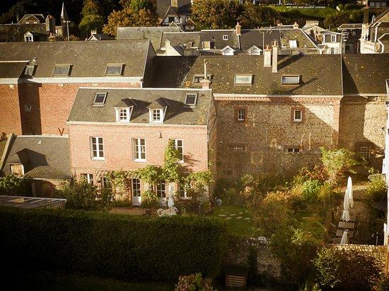 Les Galets Bleus : vista dalla nostra stanza