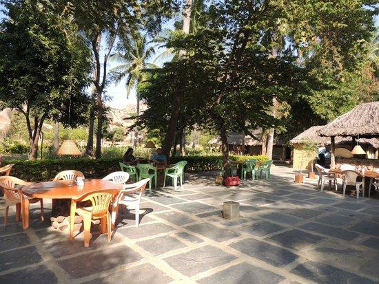 The Goan Corner : la terrasse