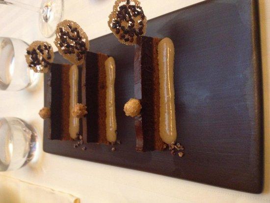 Restaurant Guy Savoy : Chocolate ganache