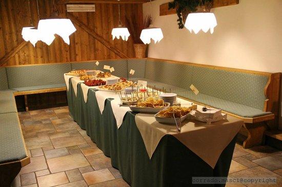 Hotel Bellavista: Sala Congressi nel seminterrato rustico
