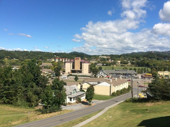 Whispering Pines Condominiums: View from the room