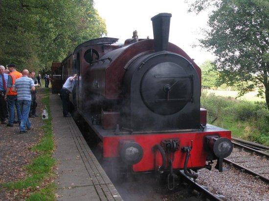 Foxfield Railway: Dilhorne Park station