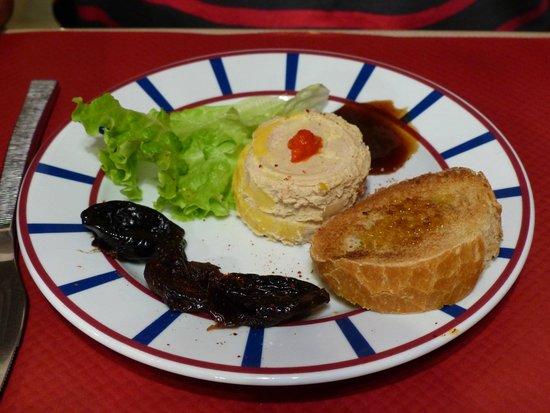 Hotel Erreguina : Foie gras