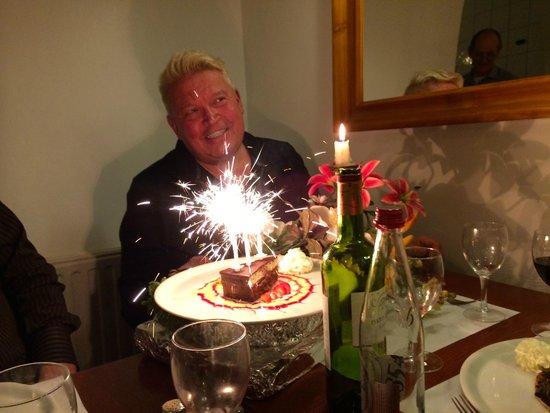 Bosquet 58: The Birthday Boy was quite surprised