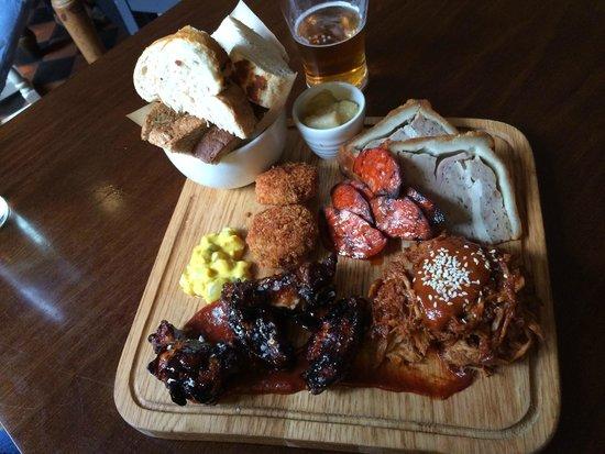The Shakespeare Restaurant: Butcher's board