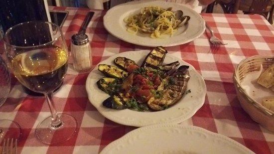 La Brace : 前菜の野菜のグリル