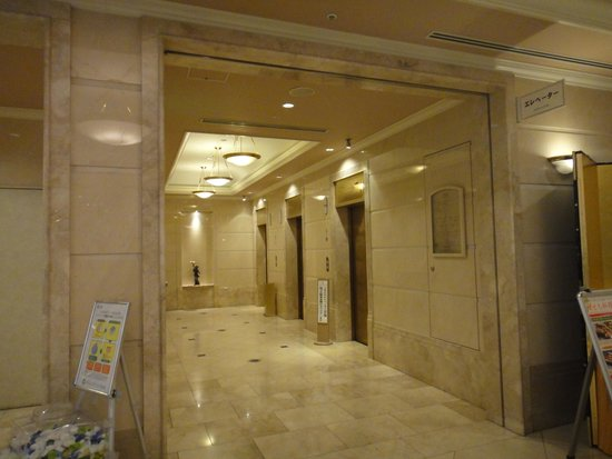 Hotel Cadenza Hikarigaoka : エレベーターホール