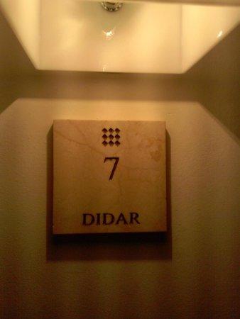 Balcon de Cordoba: Número de nuestra habitación