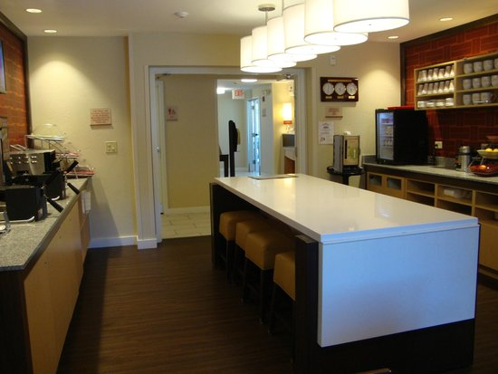 Hawthorn Suites by Wyndham Salt Lake City-Fort Union: breakfast area