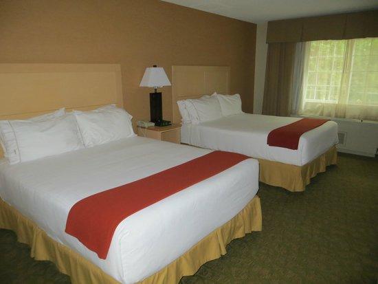 Holiday Inn Express North Conway: Tolle gemütliche Zimmer