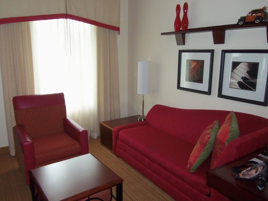 Residence Inn Pittsburgh Monroeville/Wilkins Township: Living Area