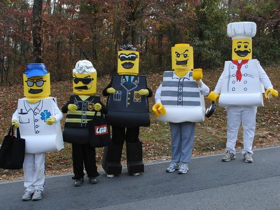Lego Costumes during Halloween Weekends - Picture of Lake Rudolph ...
