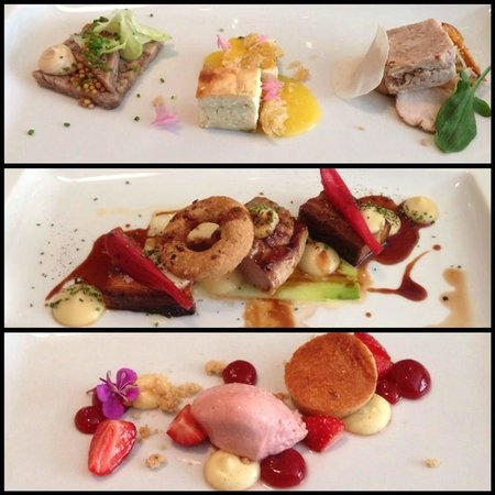 A yummy three-course lunch at Juuri