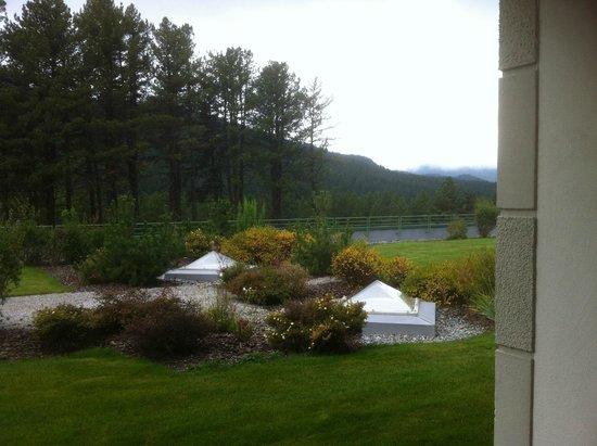Grand Hotel Kronenhof: Blick aus der Juniorsuite