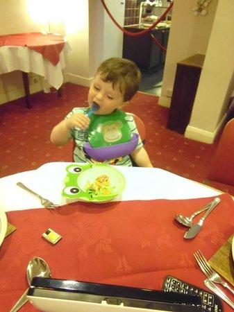 The Congress Hotel: mmm food