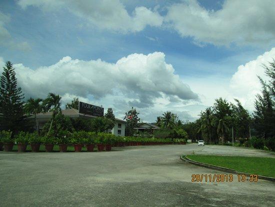 Century Langkasuka Resort : The Entrance