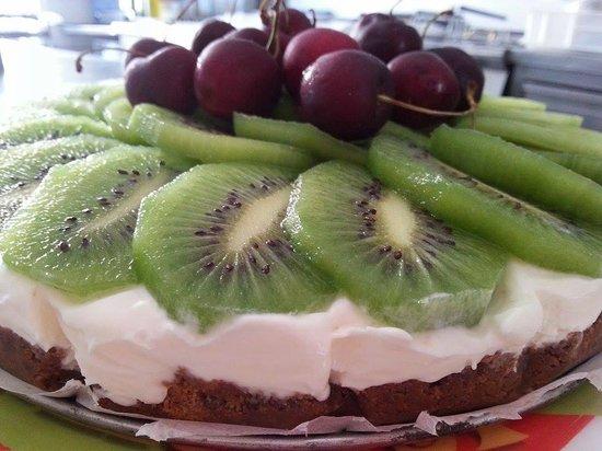 Fregene, Italien: Cheesecake alla frutta :P