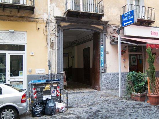 Hotel CineHoliday: Entrance