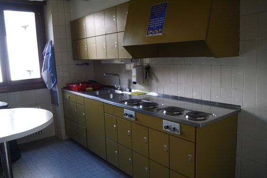 City Hostel Geneva: common kitchen