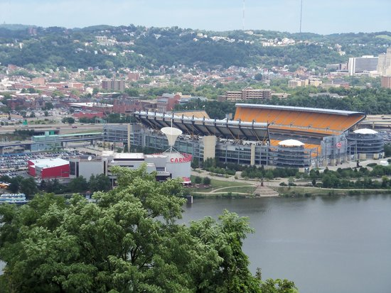 Carnegie Science Center: View from Mount Washington