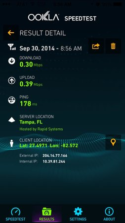 Hampton Inn & Suites Bradenton Downtown Historic District: Internet speed needs to be increased at no additional fee.