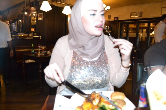 Belgian Cafe: Delicious food