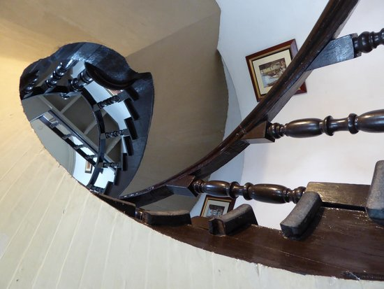 Hotel La Castellana: stairwell