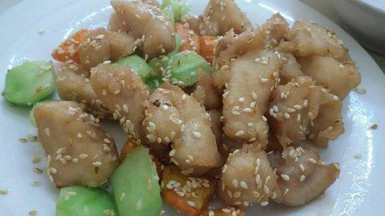Dong Bei Dumpling: Stir Fried Chicken with Sesame Seeds