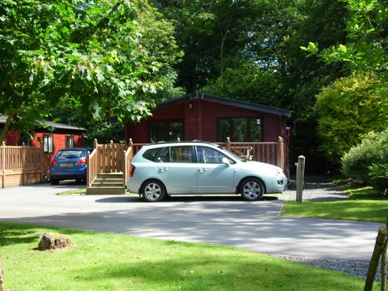 White Cross Bay Holiday Park: My lodge