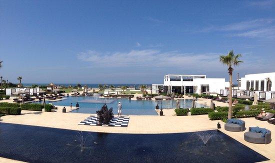 Sofitel Agadir Thalassa Sea & Spa: Pool area Sofitel