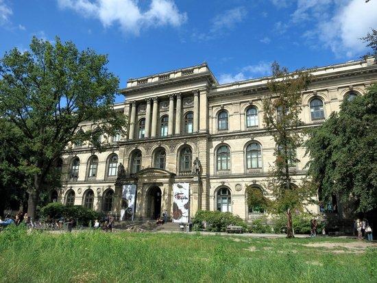 Museum fur Naturkunde (Natural History Museum) : Architektur ist das Beste des Museums