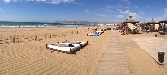 Sofitel Agadir Thalassa Sea & Spa: Private Beach Sofitel