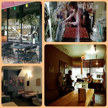 Wild Scallion: Eclectic setting