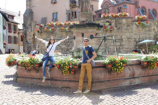 Le Hameau D'Eguisheim : next to the B &B