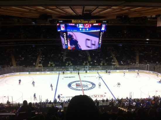 Madison Square Garden Ice Hockey Picture Of Madison