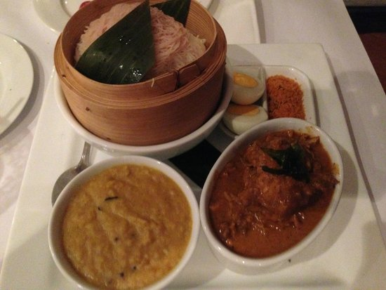 string hoppers with chicken and dhal picture of camellia restaurant canberra tripadvisor. Black Bedroom Furniture Sets. Home Design Ideas