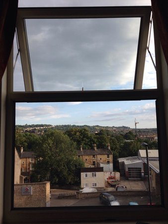 Brooks Guesthouse: View out of our window