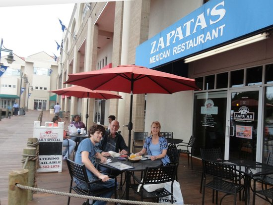 Zapata S Cantina And Mexican Restaurant Al Fresco Dining At