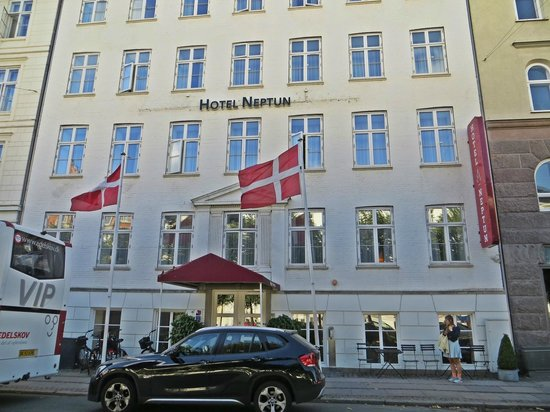 Hotel Skt. Annæ: facade