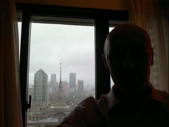 The Portman Ritz-Carlton, Shanghai: View of a front room - The Portman Ritz Carlton Hotel