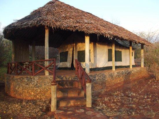 Tsavo Mashariki Camp : TENDA