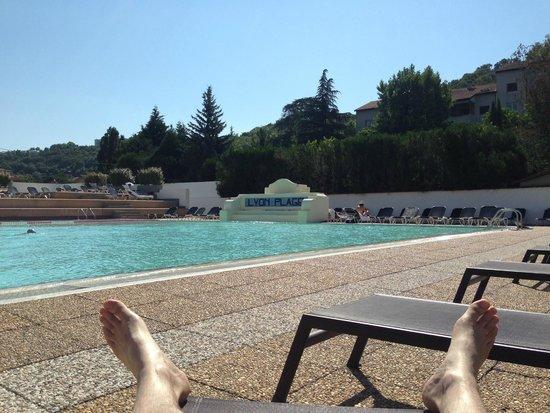 River picture of hotel lyon metropole lyon tripadvisor for Pool show lyon france