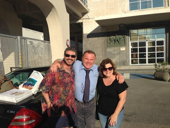 Italy Limousine: Our fabulous driver/translater/tour guide Davide