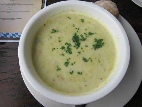 The Hahndorf Inn: Leek / Bacon soup