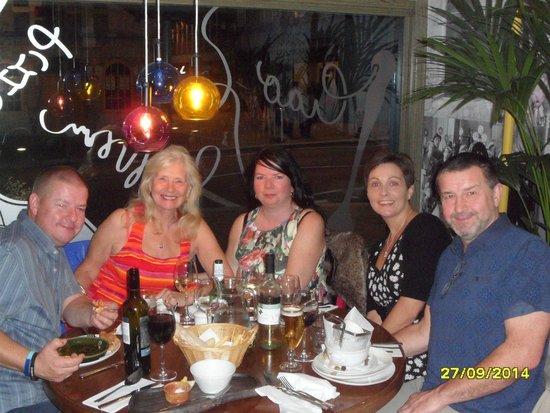Bella Italia Inverness: Birthday meal at Bella Italia for my wife Vera :-) xxx