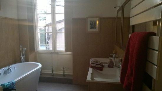 Maison d'Hotes du Pigne : ванная комната