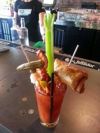 Margs Taco Bistro: bloody mary