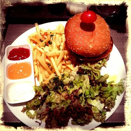 Coox & Candy: THE Burger