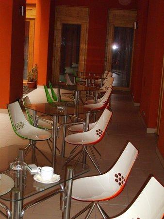 EA Embassy Prague Hotel: espace donnant sur une cour (fumoir)